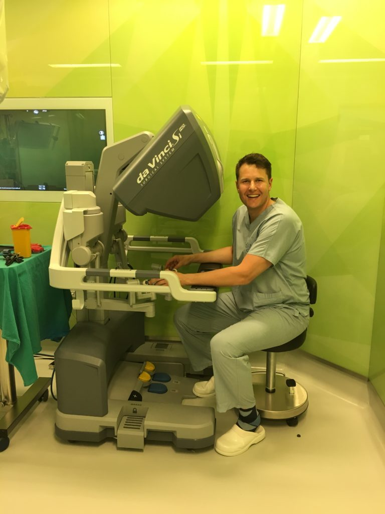 Dr Dries van den Heever - robotic-assisted radical prostatectomies - Mediclinic Durbanville